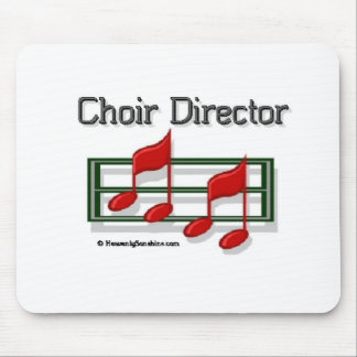 Choir Director Notes Mouse Pad