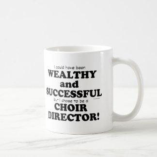 Choir Director Wealthy & Successful Classic White Coffee Mug