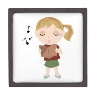 Choir Girl Jewelry Box