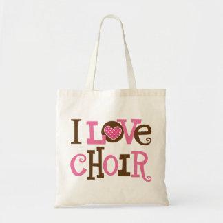 Choir (I Love Choir) Gift Budget Tote Bag