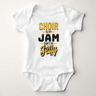 CHOIR Jam Jelly Music Religious Christian Baby Bodysuit