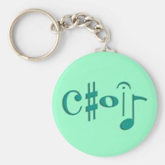 choir key chain