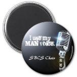 Choir magnet for GUYS