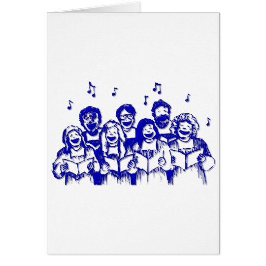 Choir members/singers card