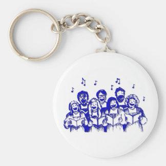 Choir members/singers keychain