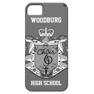 Choir Music Crest iPhone 5 Case-Mate Case Gray