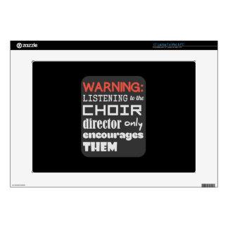 Choir Music Humor Laptop Skin