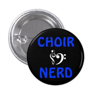 Choir Nerd Button
