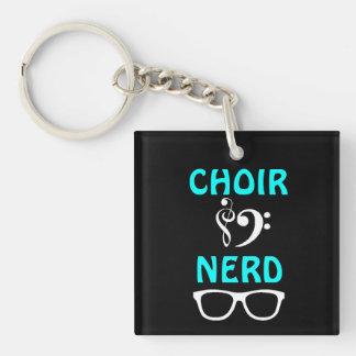 Choir Nerd Keychain