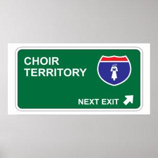 Choir Next Exit Poster