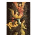Choir of Angels by Simon Marmion, Renaissance Art Invitation