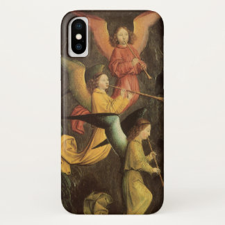 Choir of Angels by Simon Marmion, Renaissance Art iPhone X Case