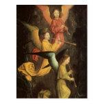 Choir of Angels by Simon Marmion, Renaissance Art Postcards