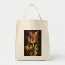 Choir of Angels by Simon Marmion, Renaissance Art Tote Bag
