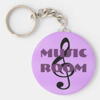 choir or band room bathroom keychain