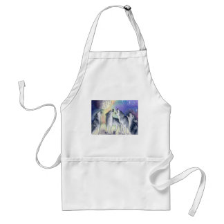 Choir practice adult apron