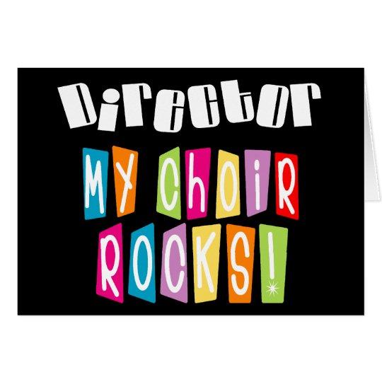 Choir Rocks Director Card