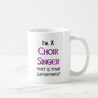 choir singer coffee mug