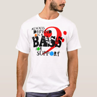 Choir T-Shirt Bass For Support 11 Color