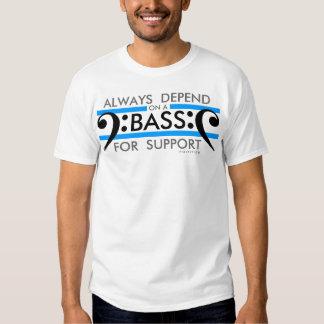 Choir T-Shirt Bass For Support 2