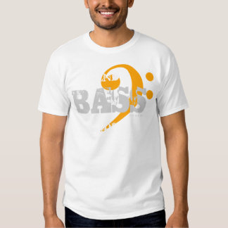 Choir T-Shirt Bass For Support 9 Orange