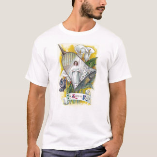 Choir Woman and Calla Lilies Vintage Easter T-Shirt