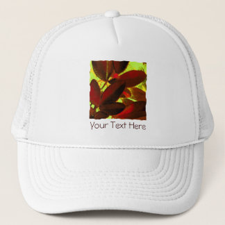 Choisya Autumn 2 'Your Text' trucker hat