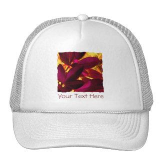 Choisya Autumn 'Your Text' trucker hat