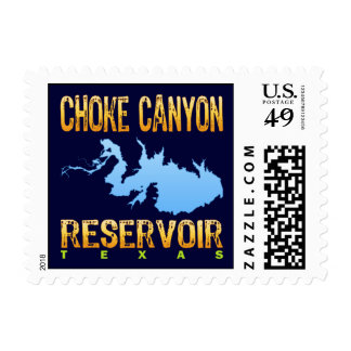 Choke Canyon Reservoir, Texas Postage Stamps
