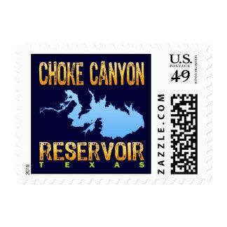 Choke Canyon Reservoir, Texas Postage Stamp