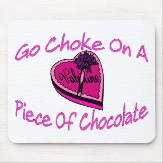 Choke On Chocolate Valentine Mouse Pad