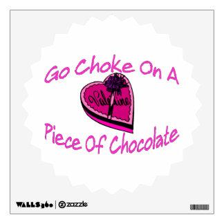 Choke On Chocolate Valentine Wall Decal