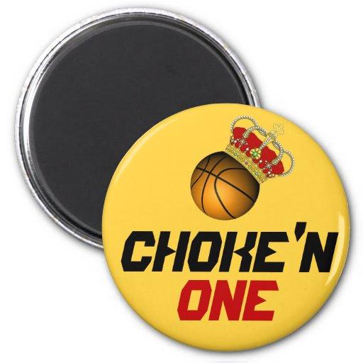 CHOKE'N ONE 2 INCH ROUND MAGNET