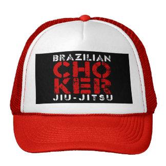 CHOKER - I Love Brazilian Jiu-Jitsu v03, White Trucker Hat