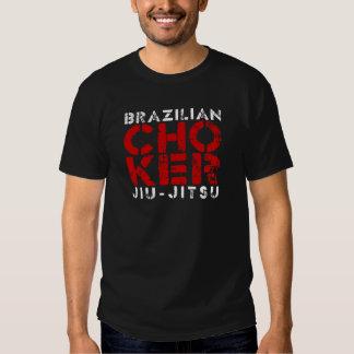 CHOKER - I Love Brazilian Jiu-Jitsu v03, White T Shirt