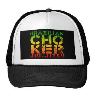 CHOKER - I Love Brazilian Jiu-Jitsu v05, Rasta Trucker Hat