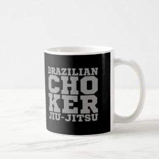 CHOKER - I Love Brazilian Jiu-Jitsu v07, Silver Coffee Mug