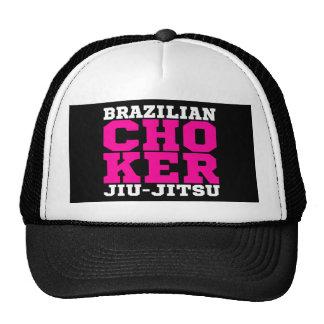 CHOKER - I Love Brazilian Jiu-Jitsu v08, White Trucker Hat