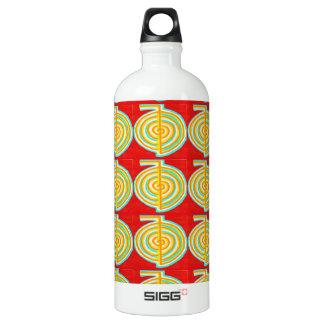CHOKURAY : CHO KU RAY Reiki Healing Symbol Aluminum Water Bottle