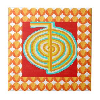 CHOKURAY : CHO KU RAY Reiki Healing Symbol Ceramic Tile