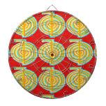CHOKURAY : CHO KU RAY Reiki Healing Symbol Dart Board