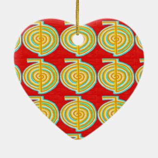 CHOKURAY : CHO KU RAY Reiki Healing Symbol Christmas Ornaments