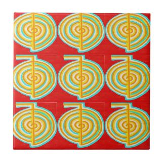 CHOKURAY : CHO KU RAY Reiki Healing Symbol Tile