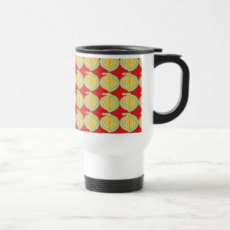 CHOKURAY : CHO KU RAY Reiki Healing Symbol Travel Mug
