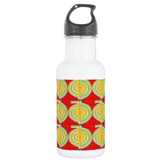 CHOKURAY : CHO KU RAY Reiki Healing Symbol Water Bottle