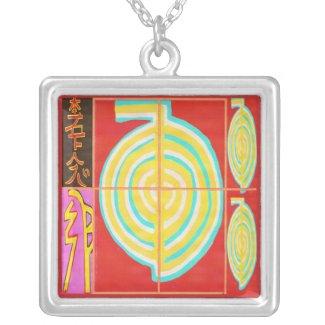 CHOKURAY Gold with Reiki Symbols Custom Jewelry