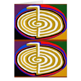 CHOKURAY REIKIHEALINGSYMBOL HEALING CARD