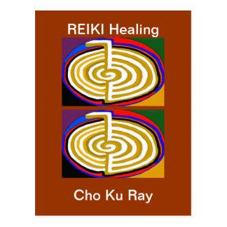 CHOKURAY REIKIHEALINGSYMBOL HEALING POSTCARD