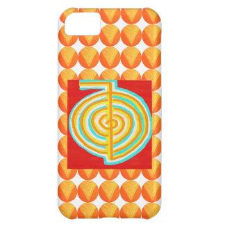 CHOKURAY: Símbolo curativo de Reiki del RAYO de CH Funda Para iPhone 5C