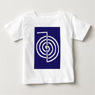 CHOKUREI  Reiki Basic Healing Symbol TEMPLATE gift Baby T-Shirt